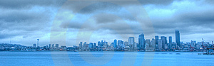 Grey Seattle Stock Photography - Image: 9772452