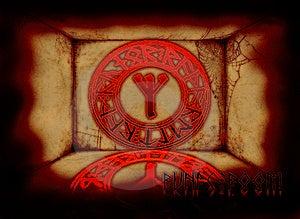 Runic Room Stock Image - Image: 9773971