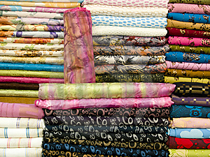 Arabic Towels Royalty Free Stock Photos - Image: 9776688