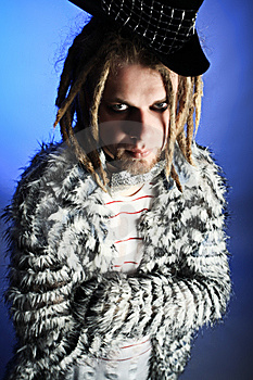 Guy With Dreadlocks Royalty Free Stock Image - Image: 9777046