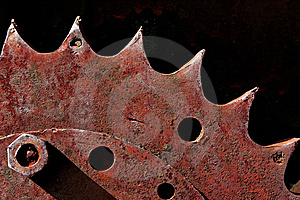 Rusty Gear Royalty Free Stock Images - Image: 9777229