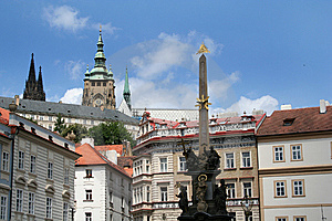 Beautiful View At Prague Royalty Free Stock Image - Image: 9777396