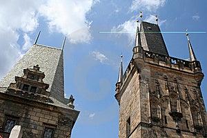 Tower On Charles Bridge Prague Stock Photo - Image: 9777410
