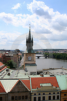 Prague Roof Tops Royalty Free Stock Image - Image: 9777416