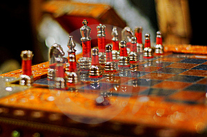 Exquisite Chess Set Royalty Free Stock Photography - Image: 9782507