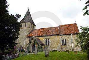 The Parish Church Of St Martin Of Tours Detling Royalty Free Stock Image - Image: 9784046