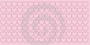 Valentine Pattern Stock Photo - Image: 9786300