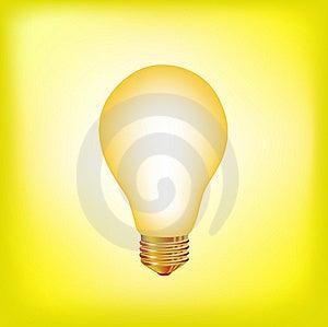 Light Bulb Royalty Free Stock Image - Image: 9789216
