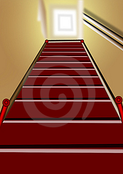 Wooden Staircase Royalty Free Stock Photo - Image: 9789925