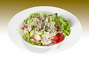 Liver Dish Royalty Free Stock Image - Image: 9790836