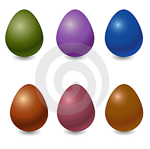 Easter Eggs Royalty Free Stock Photography - Image: 9791497