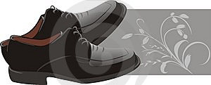 Masculine Classic Shoes Stock Photos - Image: 9792903
