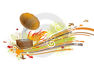 Music Royalty Free Stock Photography - Image: 9794447