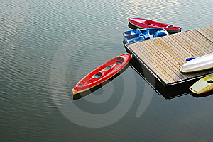 Boats On The Dock Stock Photo - Image: 9795870