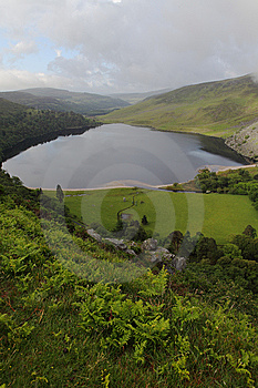 Lough Tay, Wicklow Ireland Stock Photos - Image: 9796063
