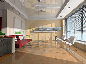Interior Of The Room Royalty Free Stock Image - Image: 9799656