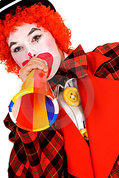 Happy Clown Stock Photos - Image: 9799943