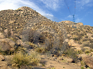 Sandia Mountain Base Royalty Free Stock Photos - Image: 983478