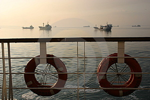 Ship To Ships Royalty Free Stock Image - Image: 985646