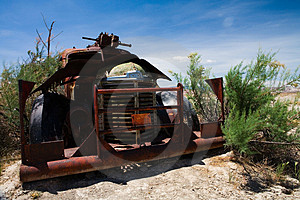 Old Truck Wreck Stock Photo - Image: 987700