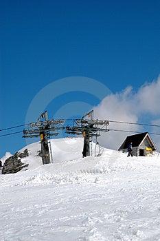 Ski Lift Royalty Free Stock Photos - Image: 988018