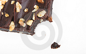 Chocolate Fudge Brownie Stock Photos - Image: 989193
