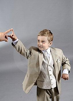 Success Boy Royalty Free Stock Image - Image: 9801006