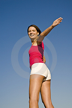 Girl Happy Stock Photography - Image: 9802302