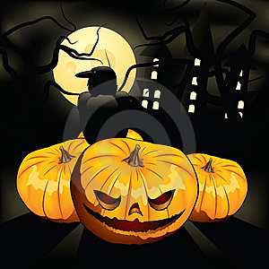 Terrible Pumpkin Royalty Free Stock Photos - Image: 9802458