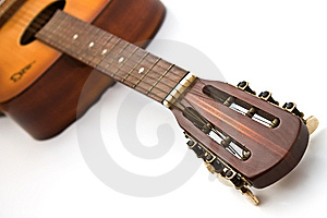 The Guitar. Stock Photo - Image: 9805750