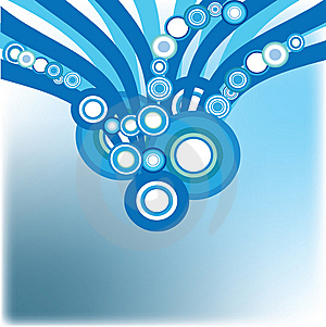 Blue Decorative Background Royalty Free Stock Photography - Image: 9809337