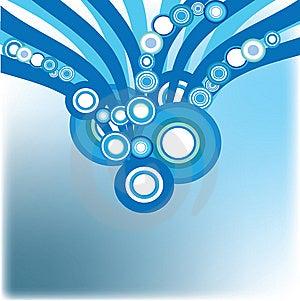 Blue Decorative Background Royalty Free Stock Photography - Image: 9809337