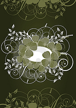 Abstract Floral Background Royalty Free Stock Images - Image: 9810899