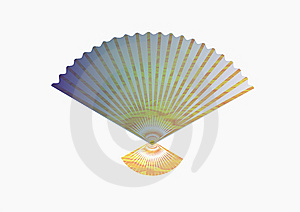 The Fan, Creates A Cool Royalty Free Stock Photo - Image: 9812725