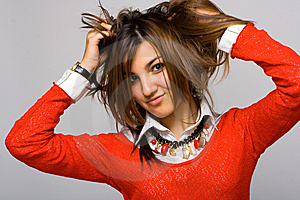 Hair Royalty Free Stock Images - Image: 9813519