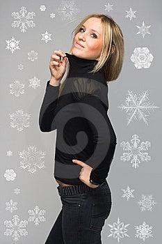 Snowflake Royalty Free Stock Photos - Image: 9813558