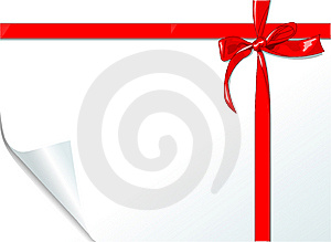 Bow And Ribbon Stock Images - Image: 9816354