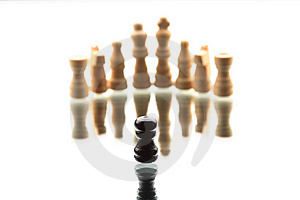 Chess Game Stock Image - Image: 9818671