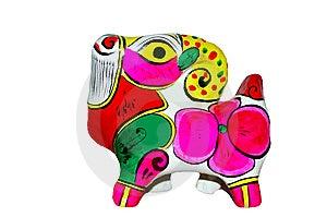 Carneiros Coloridos Feitos Da Argila Imagem de Stock Royalty Free - Imagem: 9818796