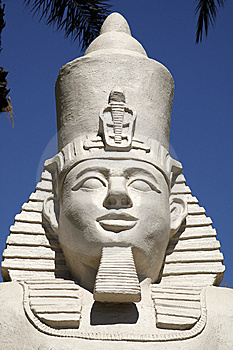 Replica Statue Of Ramses II Stock Image - Image: 9822621