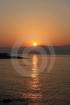 Sunup In Greece Stock Images - Image: 9822644
