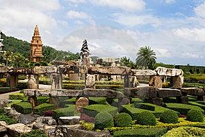 Designer Garden Stock Photos - Image: 9823993