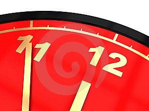 Clock Closeup Royalty Free Stock Image - Image: 9824596