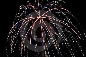 Fireworks One Royalty Free Stock Image - Image: 9825456