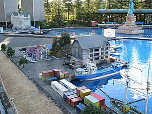 Toy Harbour Stock Images - Image: 9829714