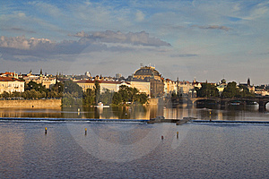 Vista Of Prague Stock Images - Image: 9832974