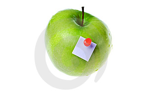Apple Stick Stock Images - Image: 9833264