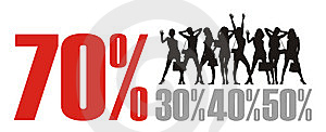 The Big Sale 1 Royalty Free Stock Photo - Image: 9835135