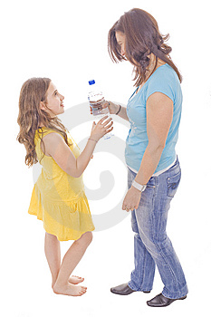 Mother And Daughter Royalty Free Stock Photo - Image: 9837605