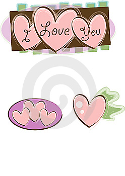 I Love You Royalty Free Stock Photos - Image: 9844318